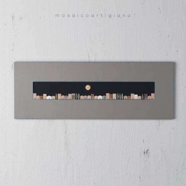 Panoramica casette quadro fatto a mano idee originali arredo Mosaico Artigiano