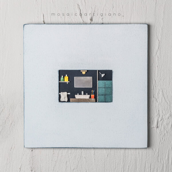 lato-35-interno-bagno-cornice-bianco-blu-quadro-mosaico