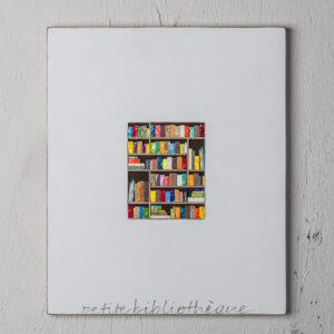 mosaico artigiano petite biblioteque lato 35